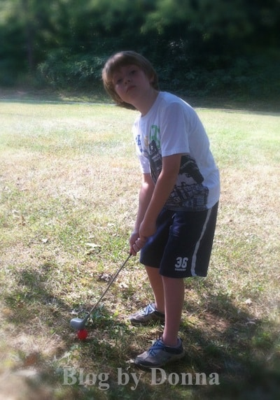 Target's Golf Club and Golf Balls