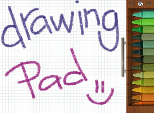 Drawing Pad app for iPhone and iPad