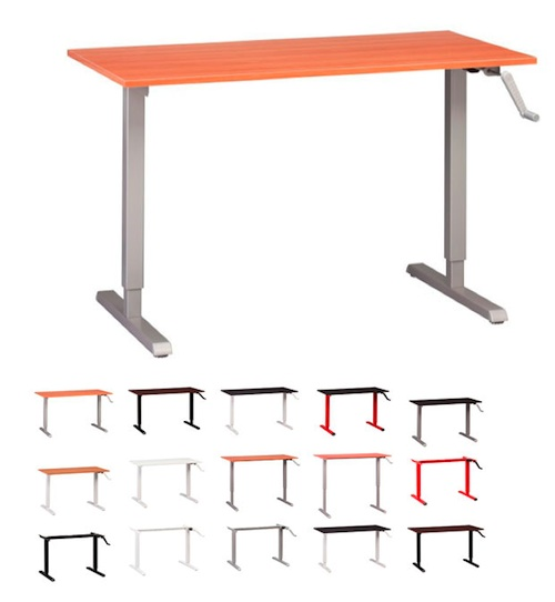 height adjustable tables