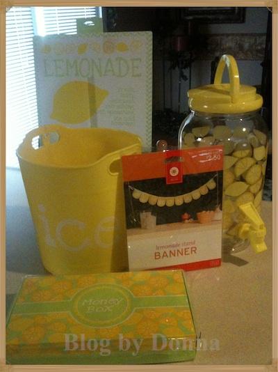 Target's Lemonade Stand items