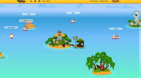 Tropical Mind Virtual World Computer Game