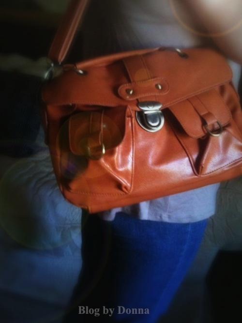 Oasap Orange Bag oasap.com