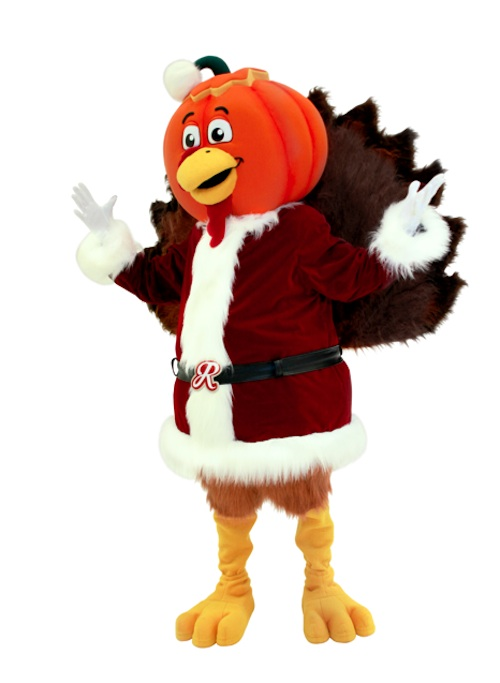 Pumpkin-Headed Turkey Claus at RetailMeNot