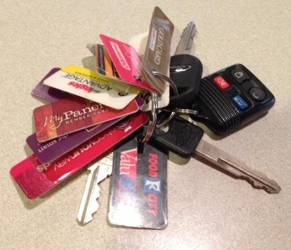 KeyChainLoyaltyCards1 loc card