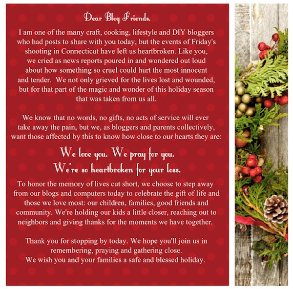 NatlBloggingDayofRemembrance national blogging day of remembrance