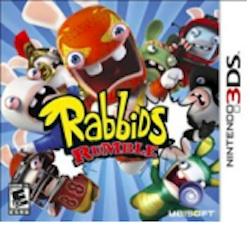 RabbidsRumbleLogo rabbids rumble Nintendo 3ds review