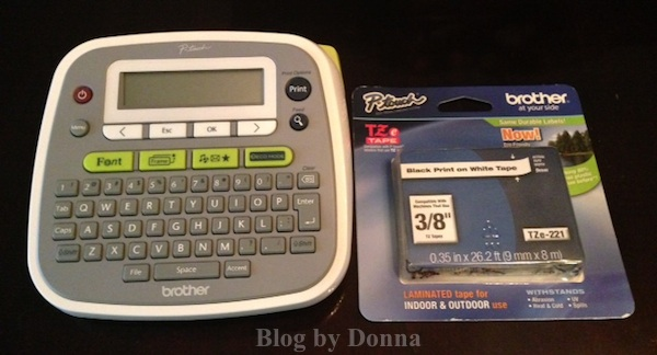 brother p-touch desk top label maker