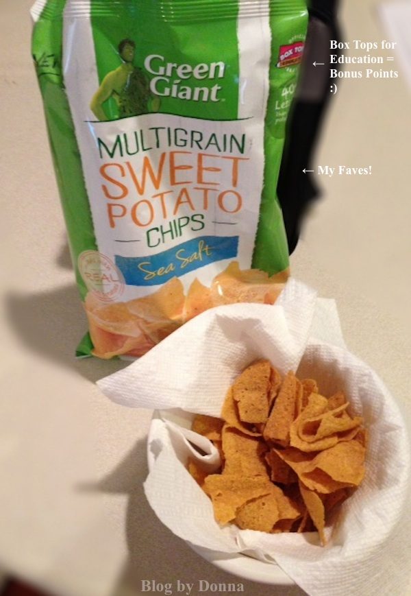 Green Giant Veggie Chips Sweet Potato with Sea Salt