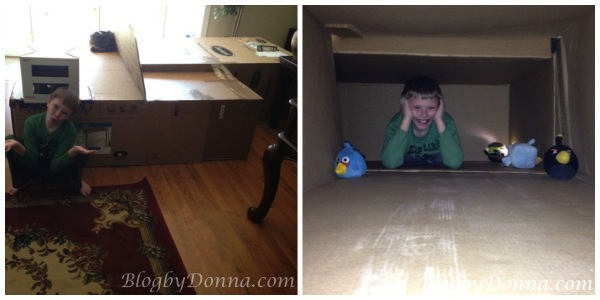 fun things to do with cardboard boxes