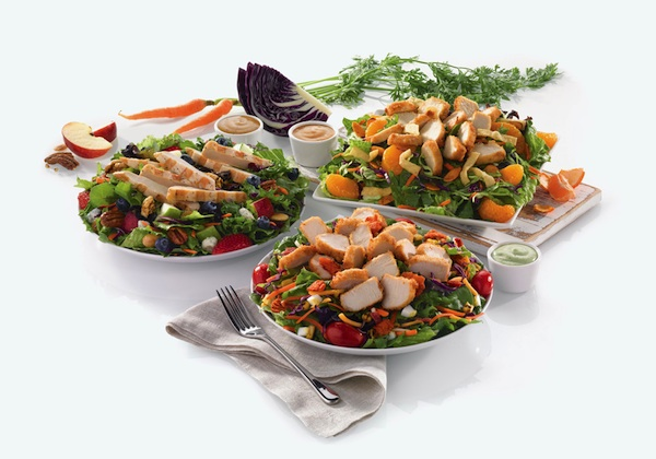 new salads at chick-fil-a