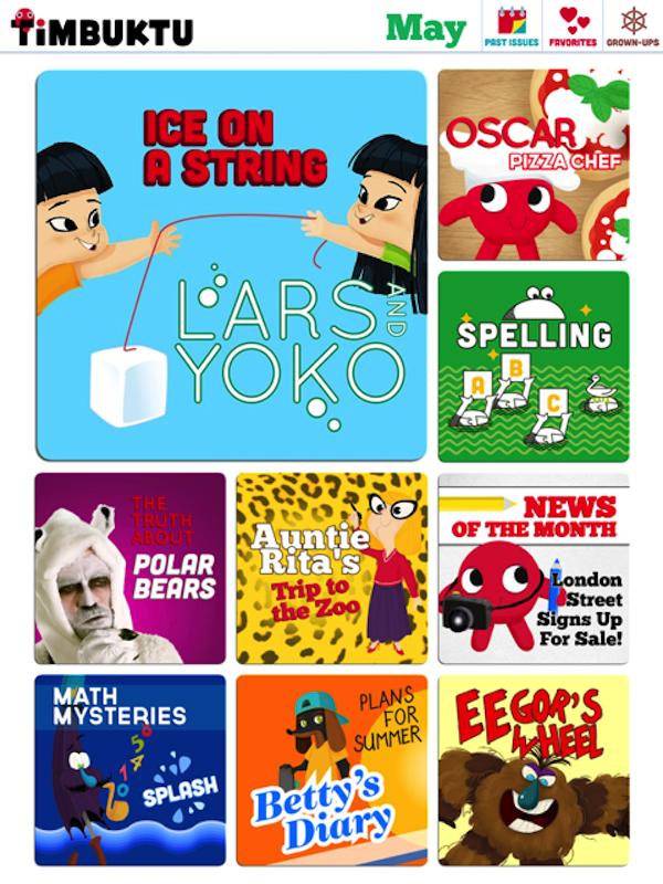 Timbuktu Magazine iPad app