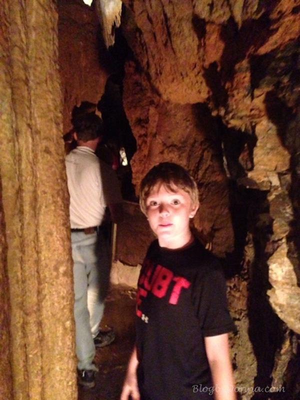 Exploring the Forbidden Caverns.