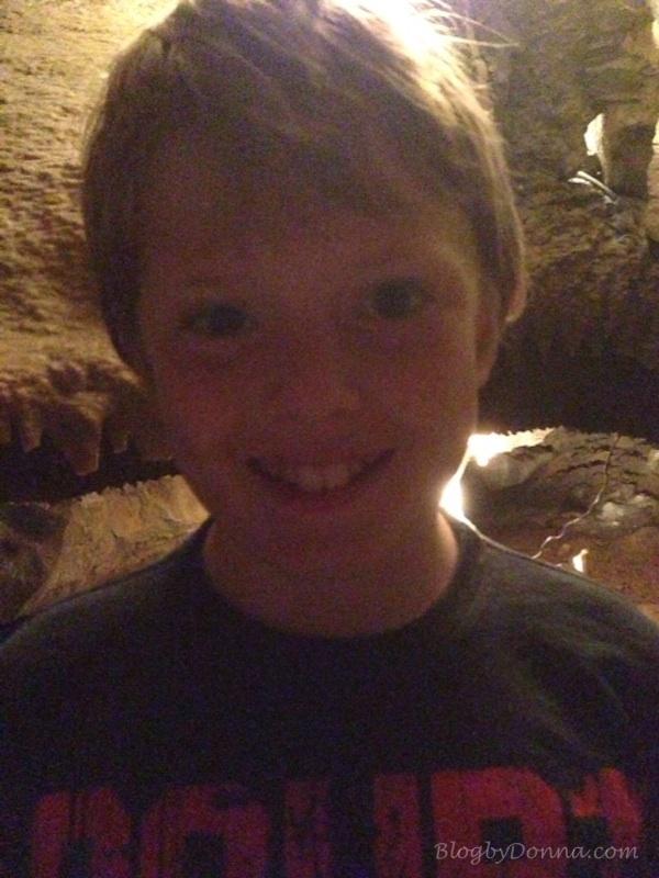 Love exploring caves!