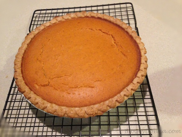 Pumpkin Pie in June