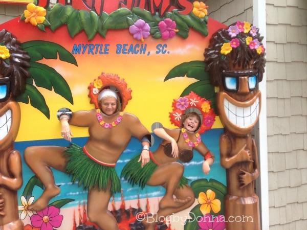 North Myrtle Beach 2013 Me & Cody Hawaiin Humor 2