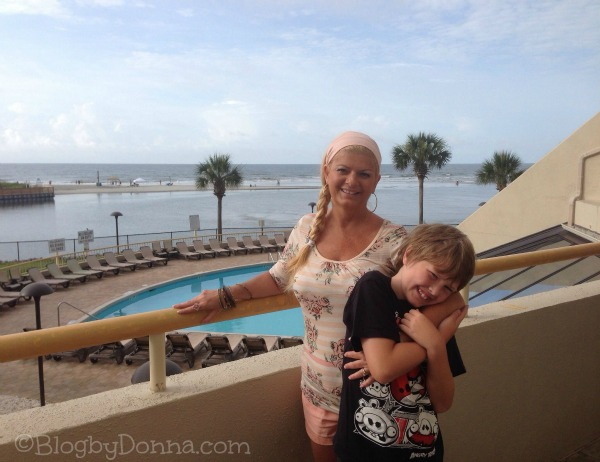 North Myrtle Beach 2013 Me & Cody on Balcony 1