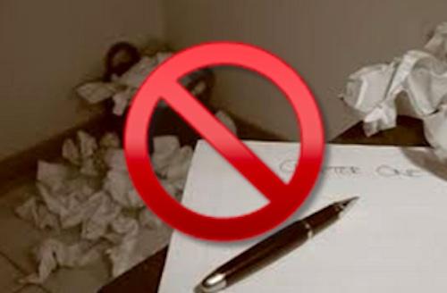Writer's Block in Blogging GP