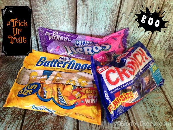 Halloween candy Nestle Butterfinger Crunch Nerds for Halloween #TrickURTreat #shop #cbias