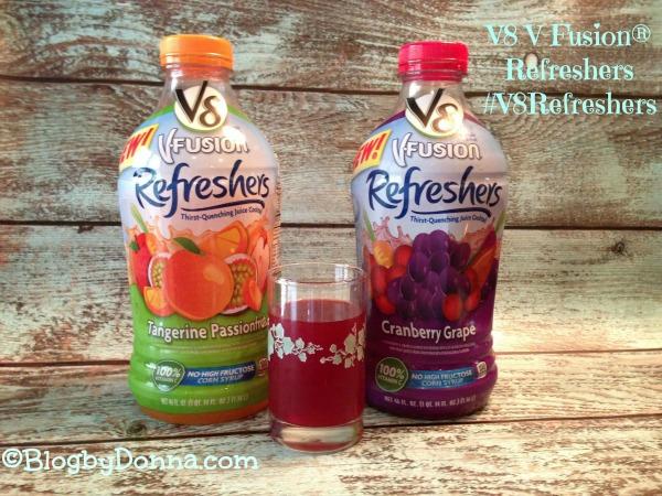 V8 V - Fusion ® Refreshers #V8Refreshers