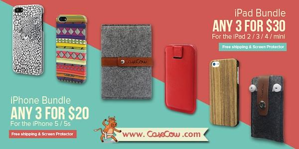 CaseCow iPhone iPad Accessories