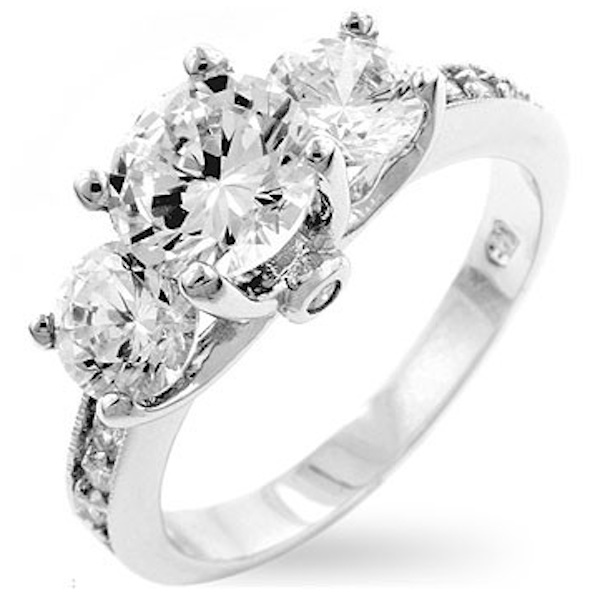 Fake Diamonds jewelry synthetic diamonds engagement rings