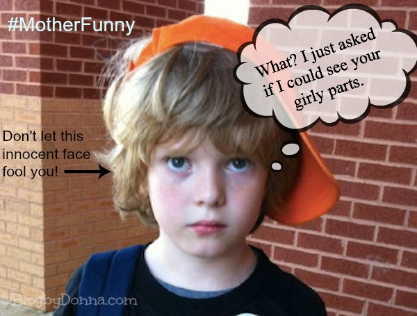 #MotherFunny NickMom Embarrassing things kids say #shop #cbias