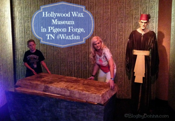 Hollywood Wax Museum Pigeon Forge #WaxFan