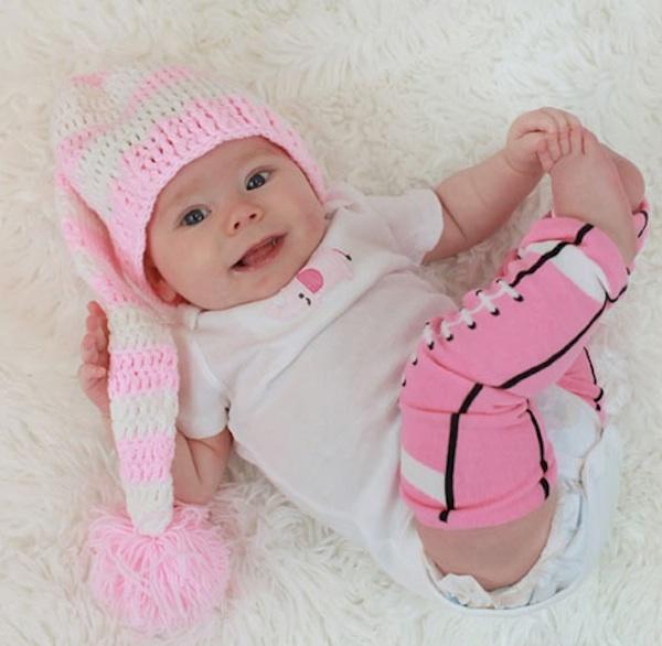 Baby Fan Sportswear Pink Fotball Leg Warmers