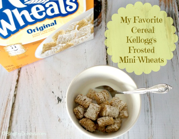 Kellogg's Frosted Mini-Wheats #greatstarts favorite cereal