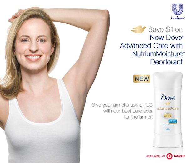 Dove Advanced Care with NutriumMoisture Deodorant Img