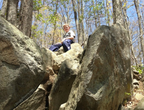 Cody Hiking and Rock Climbing