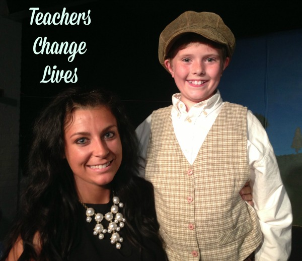 Cody and Ms. DiMeola Teachers Change Lives