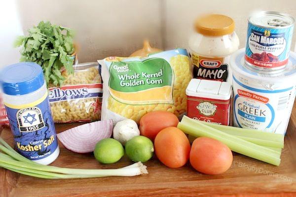 Ingredients for Mac Salad