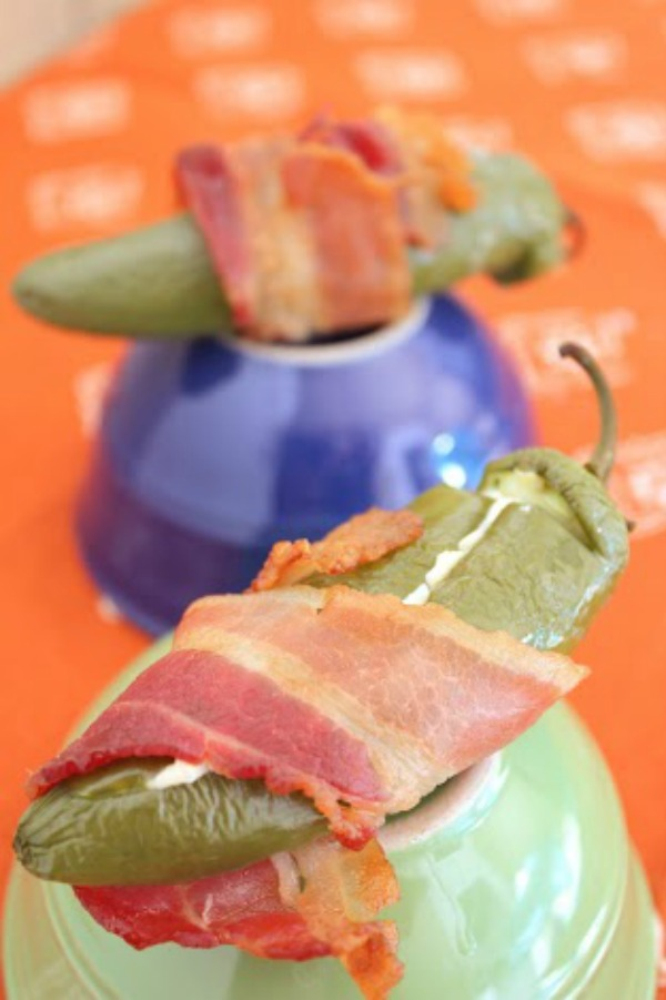 stuffed jalapenos with bacon appetizer recipe