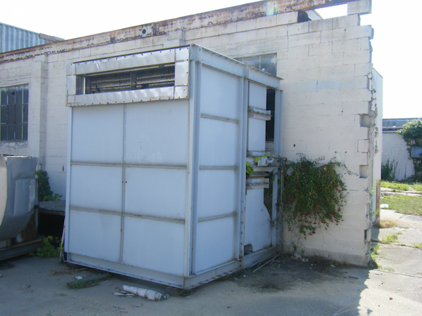 Thermal Oxidizer air conditioning system