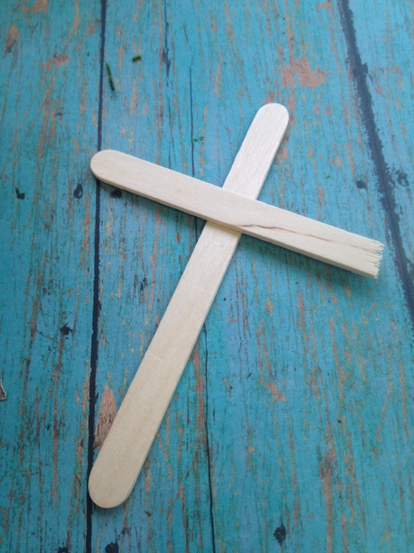 Paid in Full Coin Cross Craft - DIY Christian craft