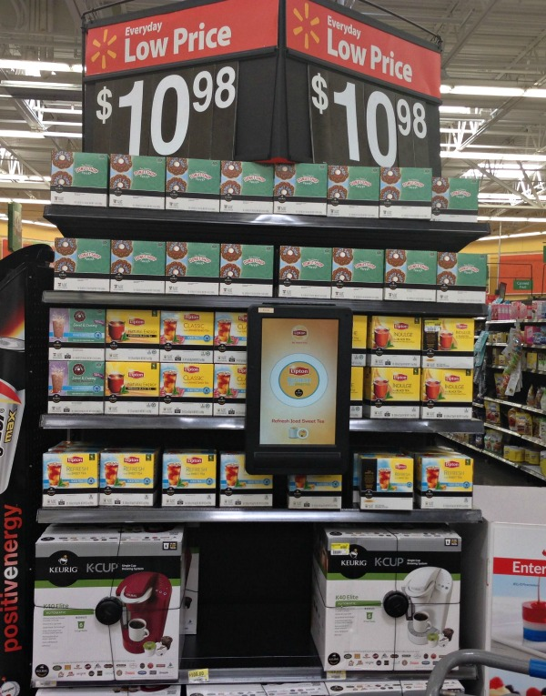 K Cups Brew Over Ice Coffee and Iced Tea at Walmart #BrewOverIce #BrewItUp #shop #cbias #collectivebias