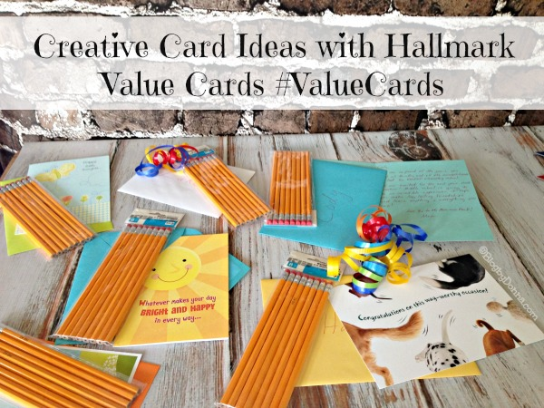 Creative Card Ideas with Hallmark Value Cards #ValueCards #Collectivebias #shop