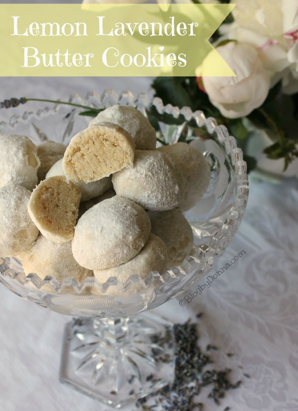 lemon lavender butter cookies recipe