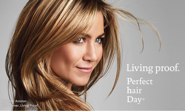 Living proof Perfect hair Day Jennifer Aniston