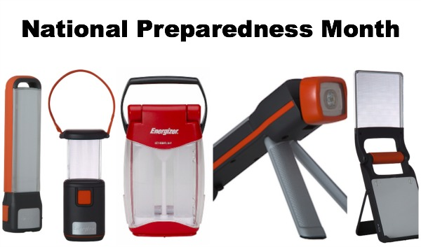 National Preparedness Month Collage