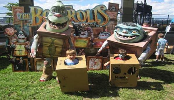 The Boxtrolls Cardboard Challenge