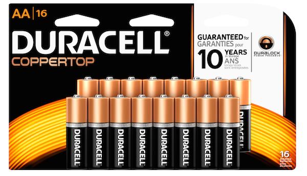 AA16pk_Duracell Batteries