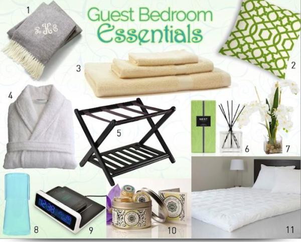 Guest Bedroom Essentials #BBNshops