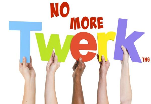 Miley Cyrus stop twerking