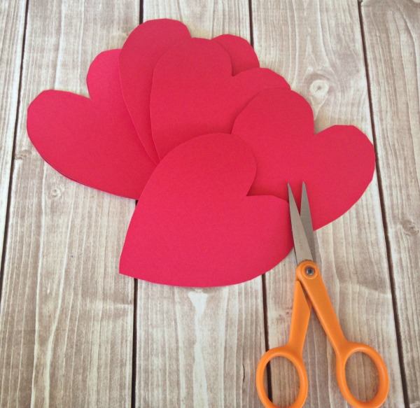 String HEART Craft Tutorial 2 Cut out Hearts