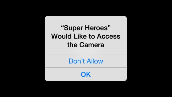 Avengers App Access Camera