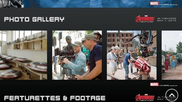 Avengers App Photo Gallery
