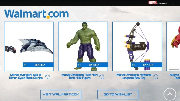 Avengers App Walmart.com