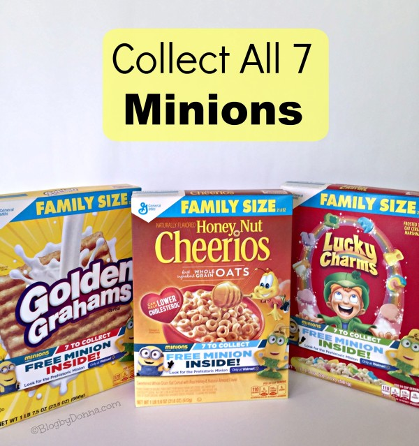 Collect 7th Minions in General Mills Cereal ONLY at Walmart